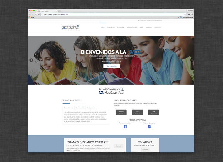 Web ASC Aurelio de León