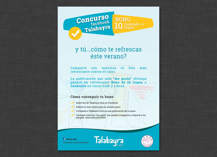 Cartel concurso Ceres