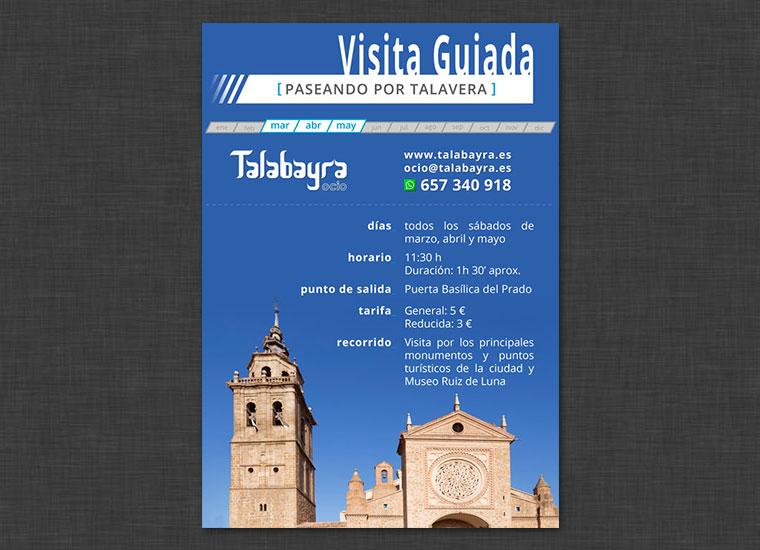 Cartel Visita Talavera