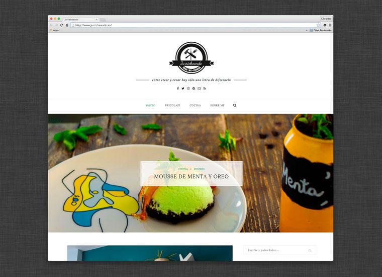 Blog Jurricheando. Cocina, bricolaje