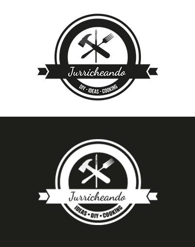 Diseño logo Jurricheando