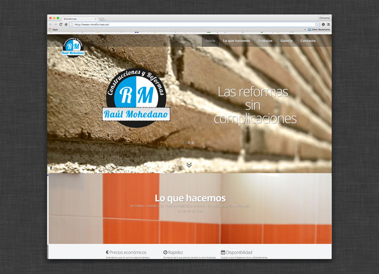 Web RM Reformas