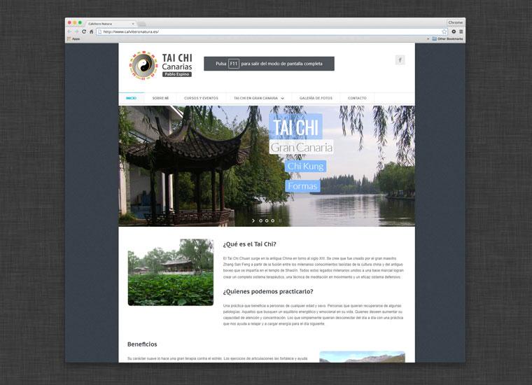 Web Canarias Taichi