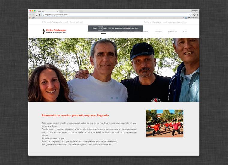 Web Fisioterapia Taichi Valencia