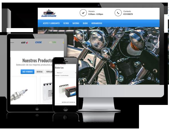 Tienda Online Lubrimoto
